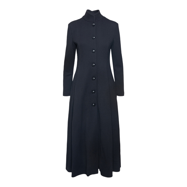Long jacket with skirt                                                                                                                                Emporio Armani 8N2L8A back