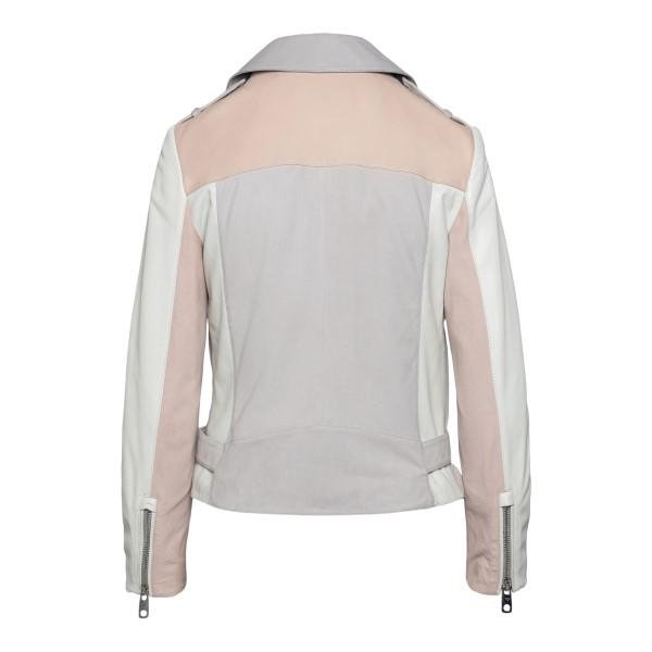 Multicolored leather jacket                                                                                                                            EMPORIO ARMANI