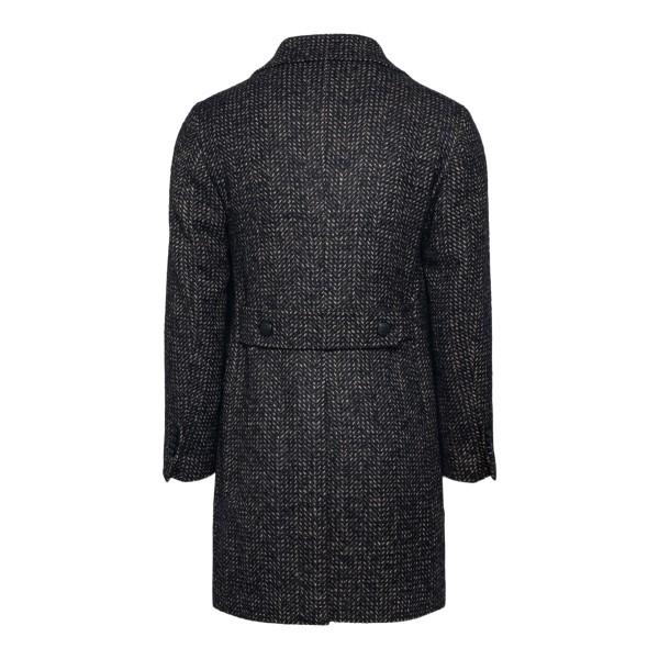 Cappotto nero a doppiopetto                                                                                                                            TAGLIATORE                                         TAGLIATORE