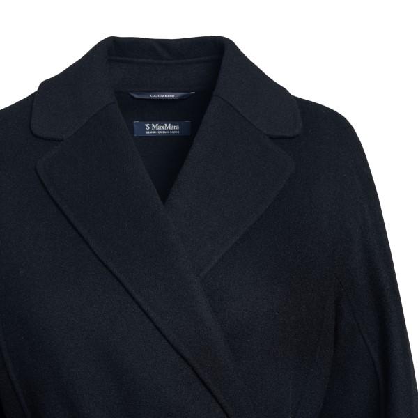 Black wrap coat                                                                                                                                        MAX MARA S