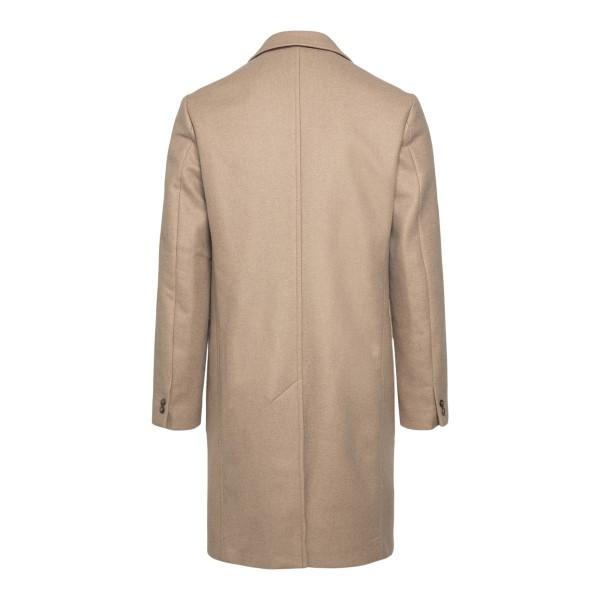 Cappotto classico beige                                                                                                                                EMPORIO ARMANI                                     EMPORIO ARMANI