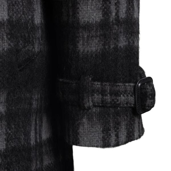 Cappotto lungo nero a quadri                                                                                                                           TAGLIATORE TAGLIATORE
