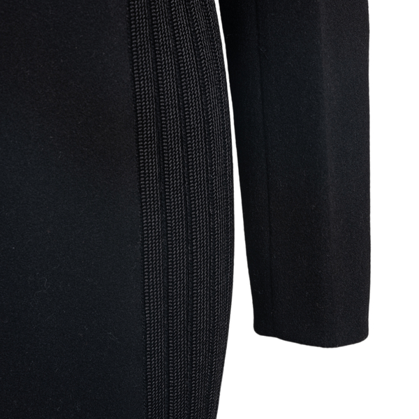 Coat with knitted inserts                                                                                                                              GIVENCHY