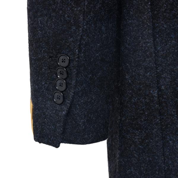 Elegant blue coat                                                                                                                                      TAGLIATORE