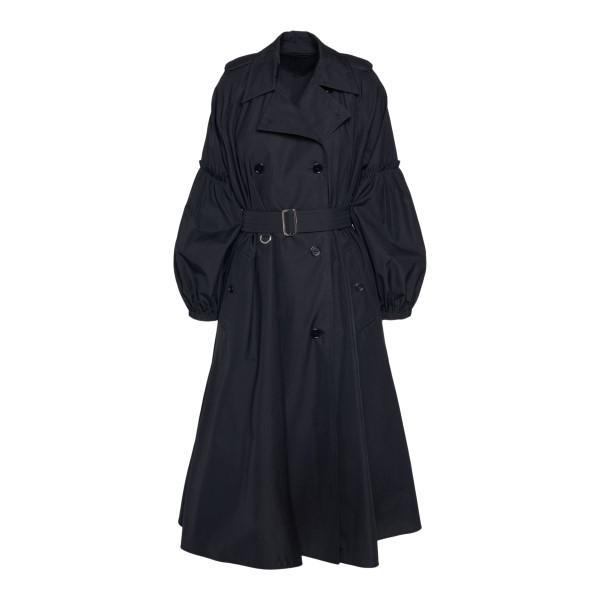 Black flared trench coat                                                                                                                               MAX MARA