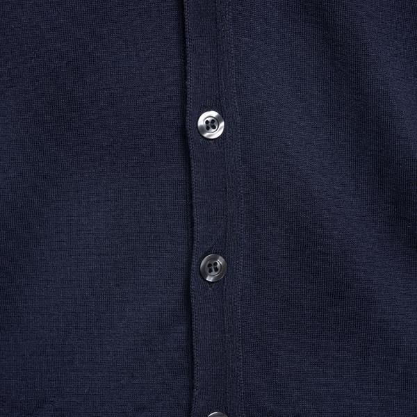 Blue knitted vest                                                                                                                                      JOHN SMEDLEY