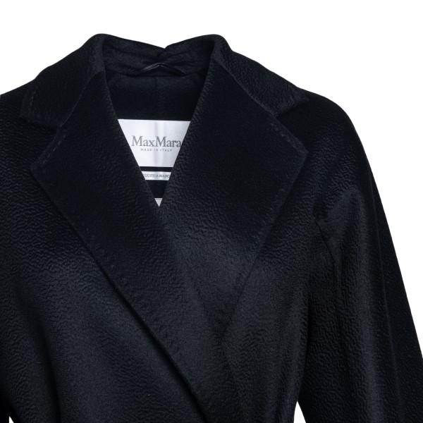 Cappotto nero a portafoglio                                                                                                                            MAX MARA MAX MARA