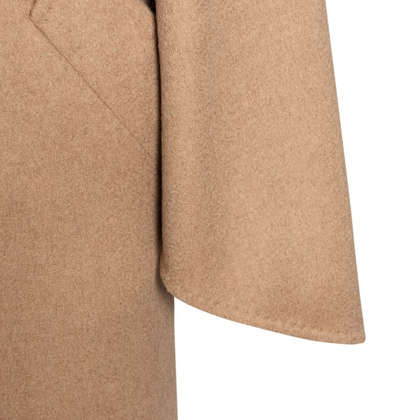 Long sand-colored coat                                                                                                                                 MAX MARA