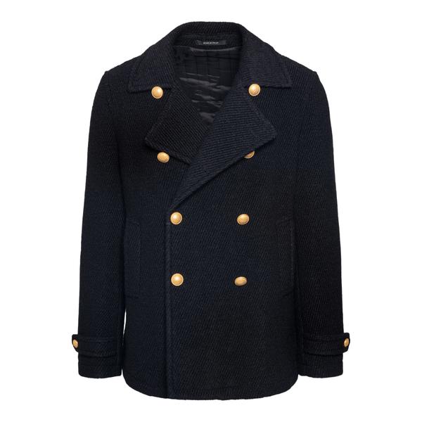 Cappotto caban nerp con bottoni oro                                                                                                                    TAGLIATORE                                         TAGLIATORE