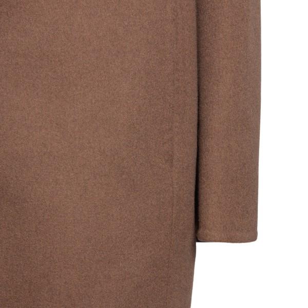 Cappotto marrone con logo                                                                                                                              LOEWE LOEWE