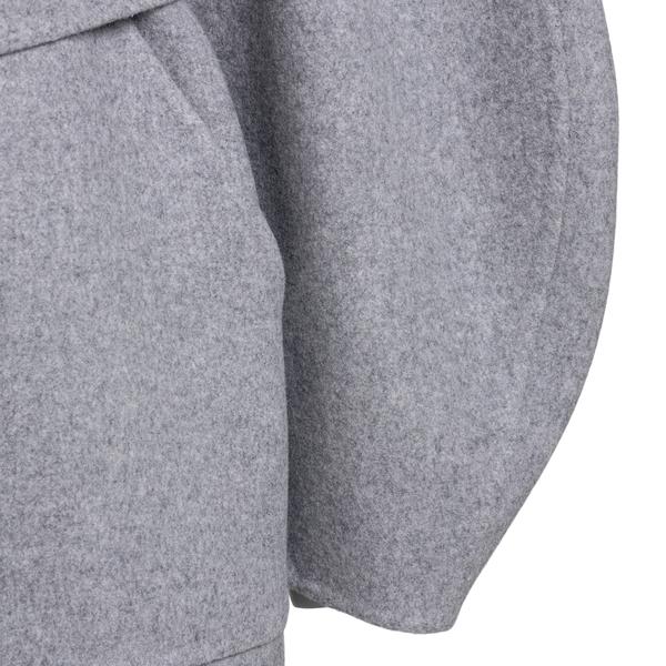 Cappotto grigio con maniche a palloncino                                                                                                               LOEWE LOEWE