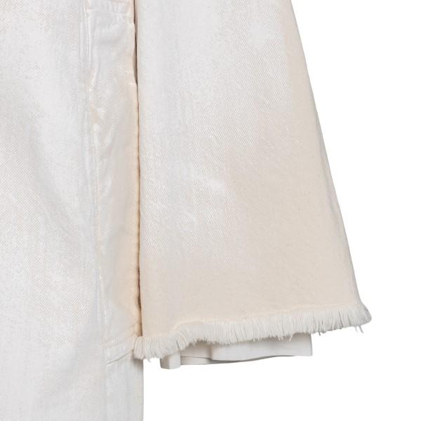 Beige oversize coat                                                                                                                                    MARNI