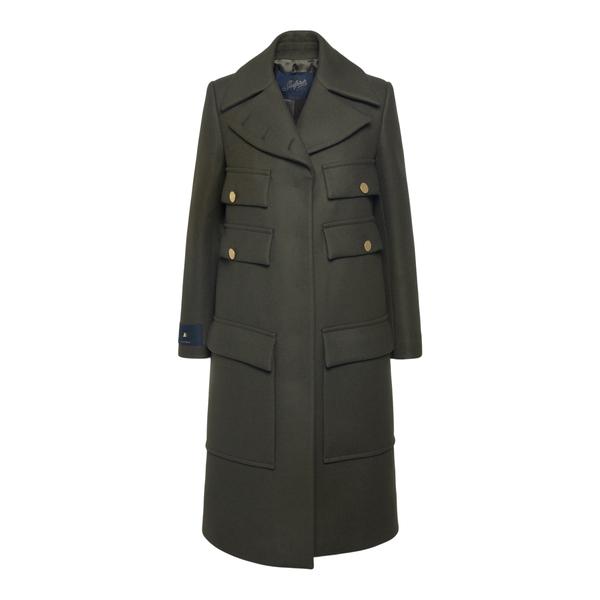 Cappotto lungo verde militare                                                                                                                         Seafarer SWJ0008TWF0002000 retro