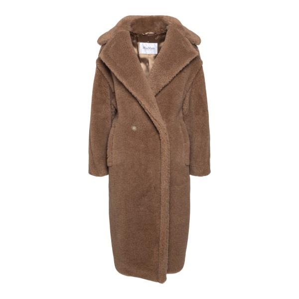 Cappotto marrone effetto pelliccia                                                                                                                     MAX MARA                                           MAX MARA