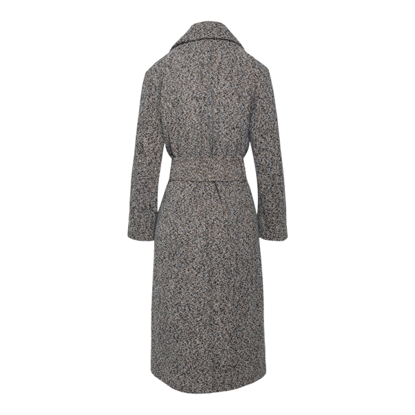 Long grey dotted coat                                                                                                                                  VINCE