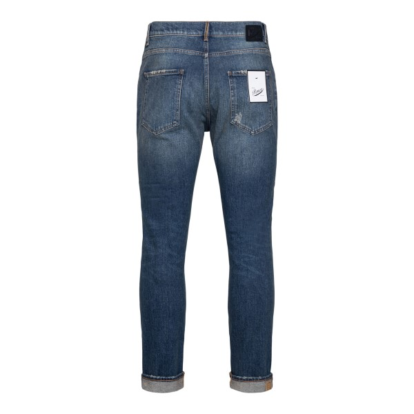 Classic blue cropped jeans                                                                                                                             PENCE