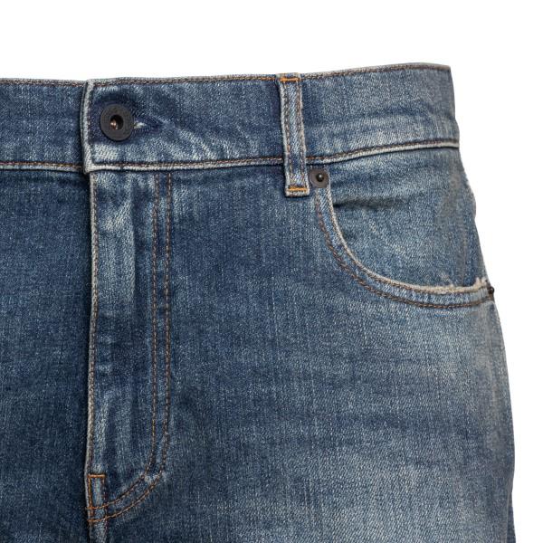Jeans classici blu a taglio crop                                                                                                                       PENCE                                              PENCE