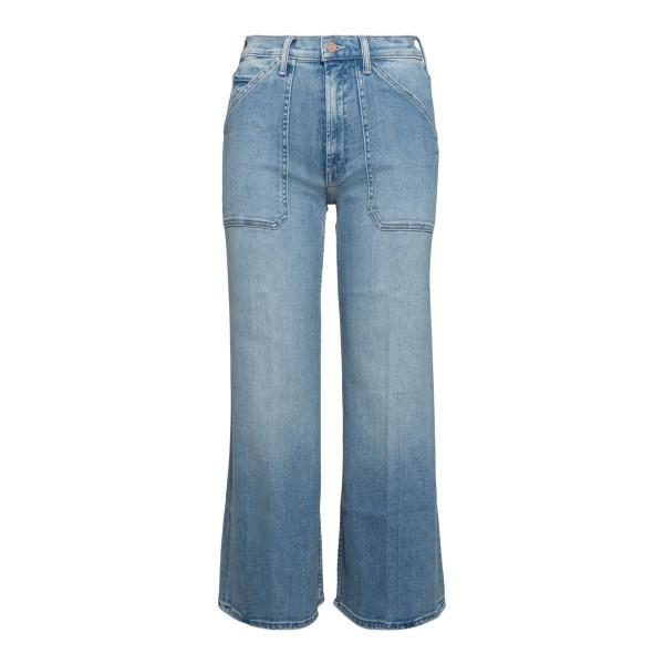 Jeans blu chiaro a gamba dritta                                                                                                                       Mother 10057686 retro
