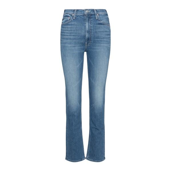 Skinny jeans with flared hem                                                                                                                          Mother 10064 back
