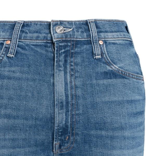 Jeans skinny con orlo svasato                                                                                                                          MOTHER MOTHER