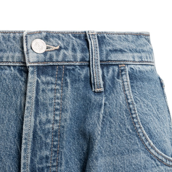 Blue jeans with cuffs                                                                                                                                  MOTHER