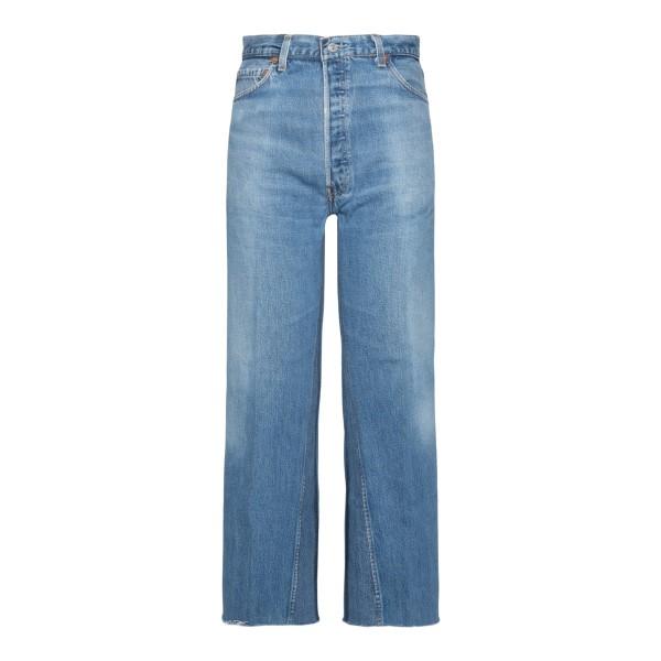 Jeans blu chiaro a gamba ampia                                                                                                                         REDONE                                             REDONE
