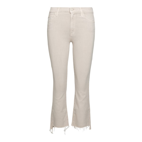 Jeans bianchi taglio crop                                                                                                                             Mother 1157413 fronte