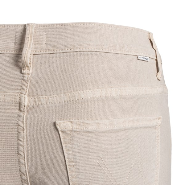 Jeans bianchi taglio crop                                                                                                                              MOTHER                                             MOTHER