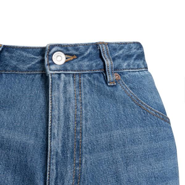 Jeans dritti in design a pannelli                                                                                                                      VICTORIA BECKHAM                                   VICTORIA BECKHAM