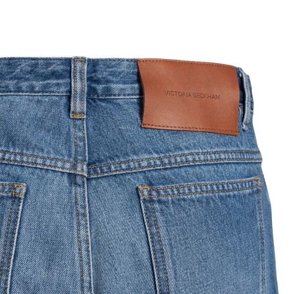 Straight jeans in paneled design                                                                                                                       VICTORIA BECKHAM