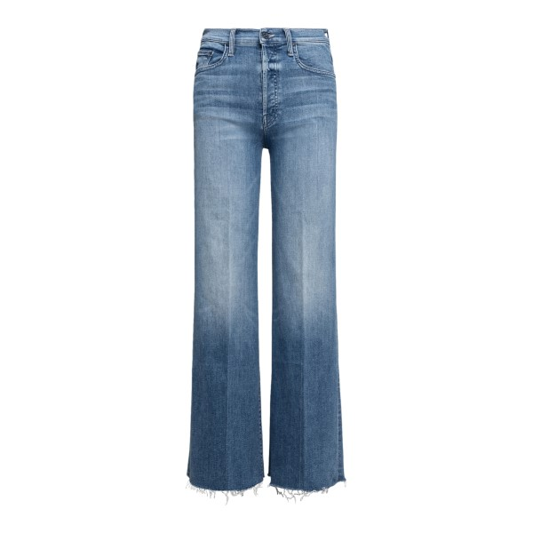 Blue flared jeans                                                                                                                                     Mother 1225104 front