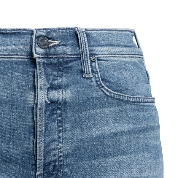 Blue flared jeans                                                                                                                                      MOTHER