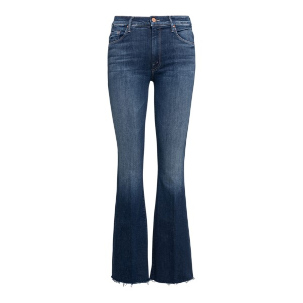 Jeans blu scuro svasati                                                                                                                               Mother 1535885 retro