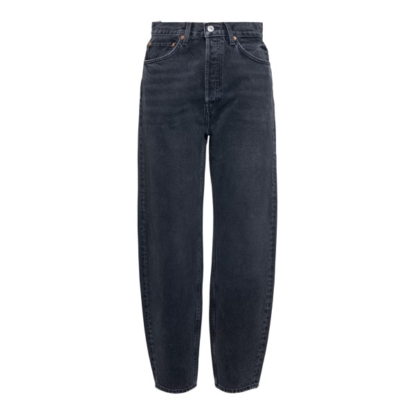 Jeans neri a gamba dritta                                                                                                                             Redone 1663WPXJ fronte