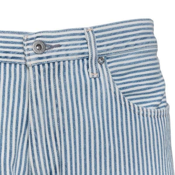 Blue and white striped jeans                                                                                                                           LEVI'S