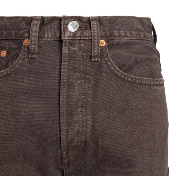 Straight leg brown jeans                                                                                                                               REDONE