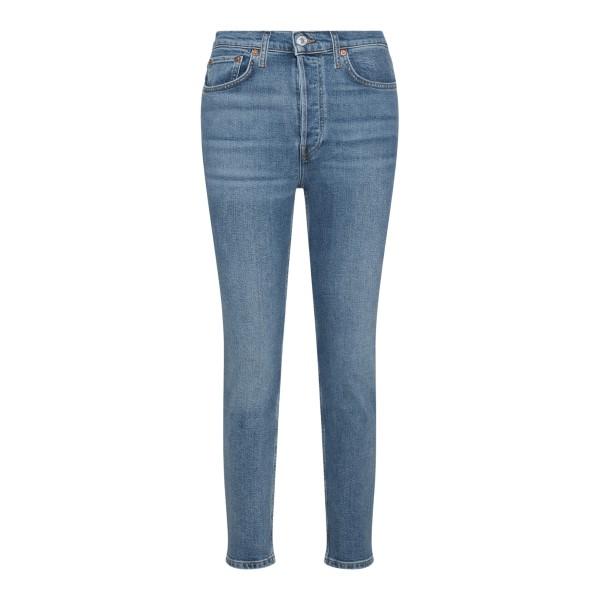 Jeans skinny in blu chiaro                                                                                                                             REDONE                                             REDONE