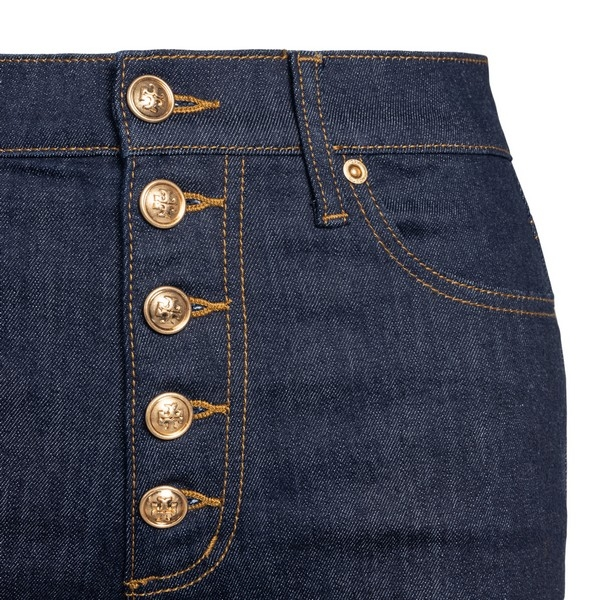 Blue flared jeans                                                                                                                                      TORY BURCH