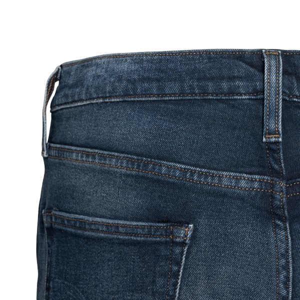 Dark blue jeans with logo patch                                                                                                                        LEVI'S