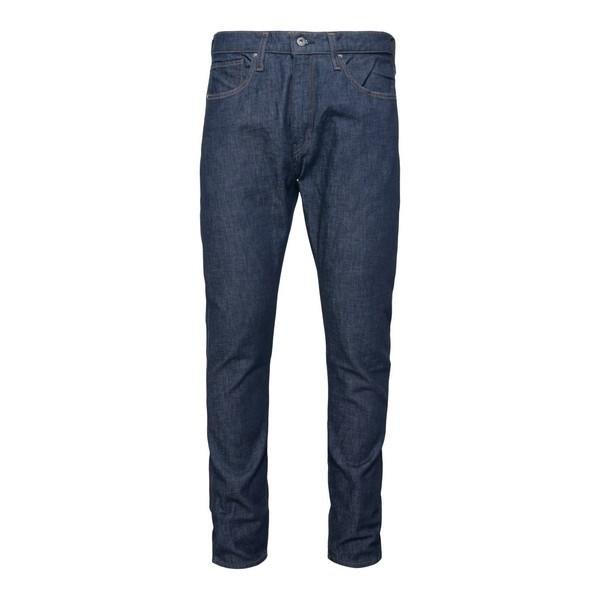 Jeans blu con cuciture a contrasto                                                                                                                    Levi's 59607 fronte