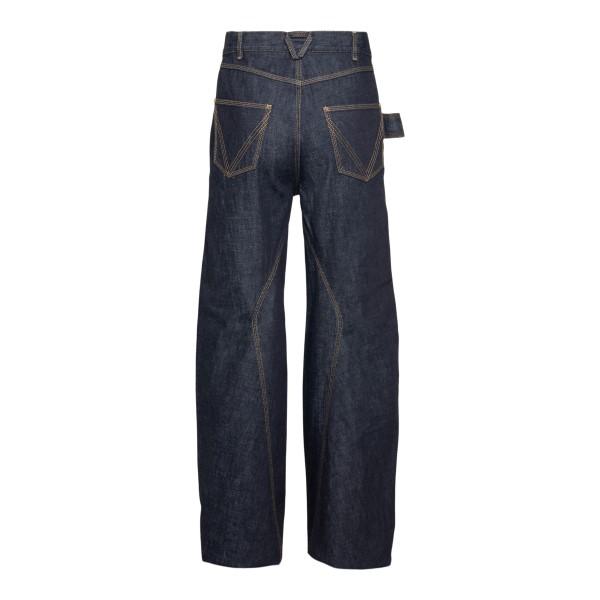 Jeans blu a gamba ampia                                                                                                                                BOTTEGA VENETA                                     BOTTEGA VENETA