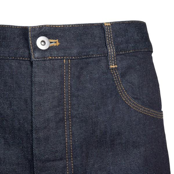 Wide leg blue jeans                                                                                                                                    BOTTEGA VENETA