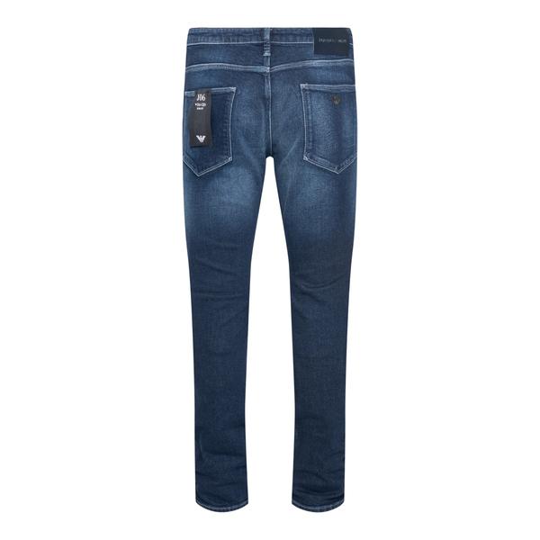 Jeans blu effetto sbiadito                                                                                                                             EMPORIO ARMANI                                     EMPORIO ARMANI