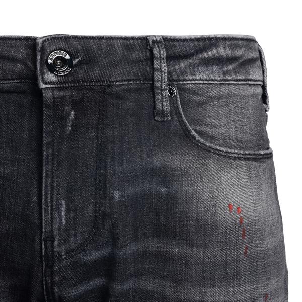 Jeans grigi in effetto vissuto                                                                                                                         EMPORIO ARMANI EMPORIO ARMANI