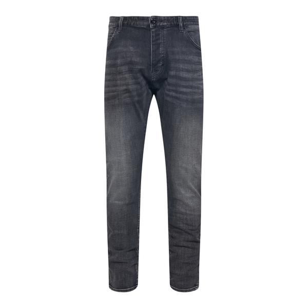 Straight jeans in dark grey                                                                                                                            EMPORIO ARMANI