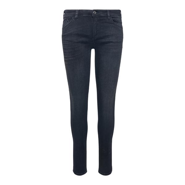 Jeans skinny neri con logo                                                                                                                            Emporio Armani 8N2J28 retro