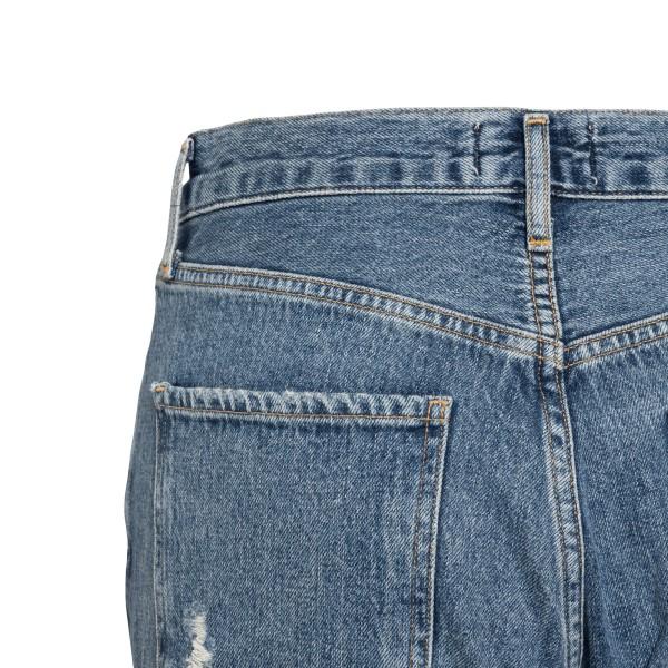 Jeans blu a effetto vissuto                                                                                                                            AGOLDE                                             AGOLDE