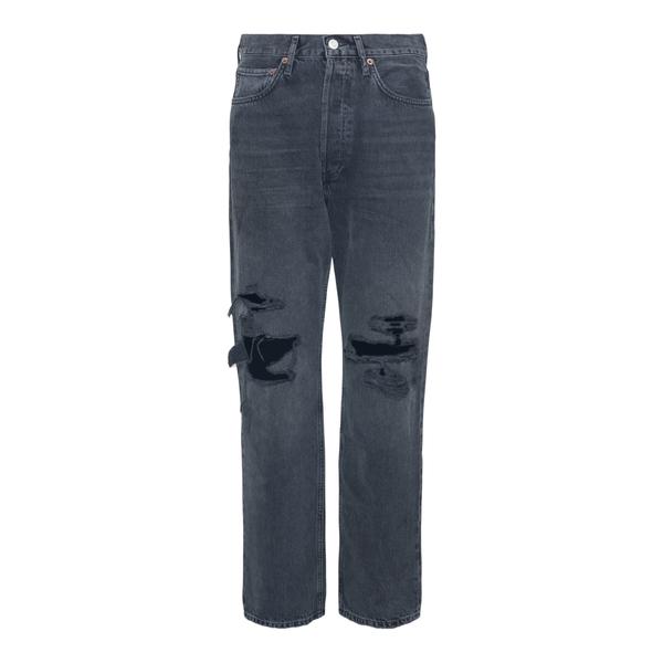 Jeans grigi a effetto vissuto                                                                                                                         Agolde A069C retro