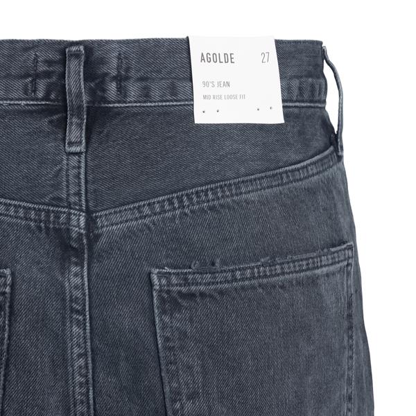 Jeans grigi a effetto vissuto                                                                                                                          AGOLDE AGOLDE