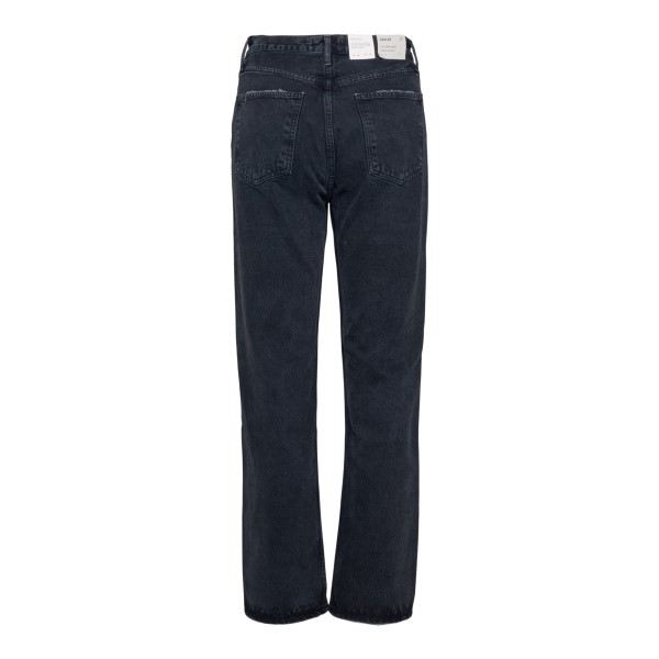 Straight black jeans                                                                                                                                   AGOLDE